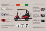 Dongfeng Motor BestマルチFunction ElectricはCargo BoxのCart Golf Cart行く