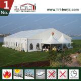 كبيرة يستعمل واضحة فسحة بين دعامتين [ريدج] خيمة وكبيرة فسطاط عرس خيمة