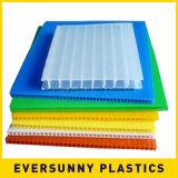 Feuille ondulée de plastiques de pp pour la boîte de présentation