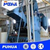 Máquina de jateamento de cinto para molas e parafusos