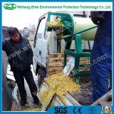 Separador líquido contínuo, secagem da extrusora do estrume da vaca