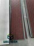 Панель сандвича изоляции пены PU Алюмини-Цинка Coated для внешнего украшения стены