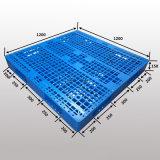 L1200*W1000*H150mm de Plastic Pallet van de Vork van het Vervoer van het Pakhuis