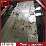 Dépliement de poinçon de découpage de l'eau de laser traitant la tôle d'acier en aluminium acier-cuivre inoxidable