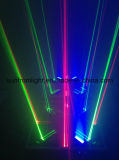 DJ RGBレーザーの屋外のクリスマスのレーザー光線