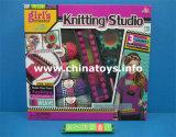 Giocattolo stabilito di lavoro a maglia infinito di possibilità DIY di disegno del creatore della ragazza (884284)