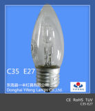 Eco Energie-Einsparung C35 Halogen Bulb mit CER, RoHS Approved