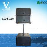 La ligne alignement de Geo S1210 choisissent '' le haut-parleur professionnel de PA du large éventail 12