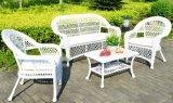 Insieme sezionale dello strato del rattan del patio del sofà esterno della mobilia