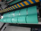 película de cor verde fundida 250mm*25um do envoltório da bala do envoltório da ensilagem