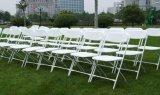 Preiswertes Plastic Folding Chair für Wedding und Garten