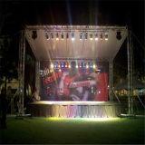 DJ 마개 LED 쇼 정사각형 상자 스피커 알루미늄은 전시 패션쇼 옥외 Truss를 조립한다