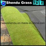 Matériau anti-UV PE 23mm Tapis d'herbe artificiel
