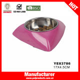 Wholesale Dog Bowl, Stainless Steel Pet Bowl (YE83785)