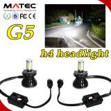 G5高い発電のセービングエネルギー80W 8000lm車LEDのヘッドライトH4