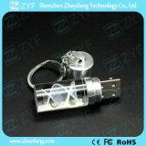 Form-Zylinder-Form Kristall-USB-Stock (ZYF1505)