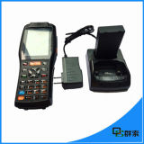 Écran tactile industriel PDA Scanner de code à barres sans fil portable avec imprimante