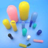 Tampão de extremidade feito sob encomenda da borracha de silicone do tamanho das várias cores