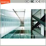 Прокатанное стекло для перегородки, двери, лестниц, балюстрады