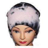 Kundenspezifischer Gleichheit-FarbeSlouchbeanies-Winter gestrickte Schutzkappe