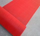 Stuoie di plastica del corridore del rullo del pavimento della pavimentazione del portello di figura della maglia Z S del vinile del PVC