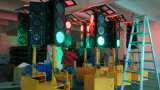 Éclairage LED fixe de circulation piétonnière