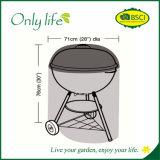 Coperchio rotondo Dia71X76cm del PE BBQ/Grill del coperchio della mobilia del patio di Onlylife