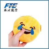beurs van het Muntstuk van het Pak van de Kaart van de Pluche Emoji van 1.5cm de Draagbare Mini