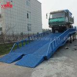 Bewegliche hydraulische Verladedock-Rampe für Behälter