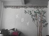 Strato interno insonorizzato della scheda del foro del comitato di soffitto della scheda del comitato di parete del comitato acustico della decorazione di arte/della parete del comitato del comitato di Hoheycomb del comitato scheda della scanalatura