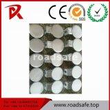 Tráfico de la seguridad en carretera y delineadores reflexivos de la carretera plástica redonda del camino