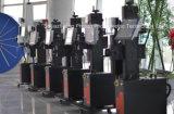 PP/PVC/PE/HDPE 플라스틱 관을%s 20W/30W /50W 섬유 Laser 표하기 기계
