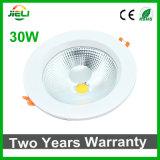 MAZORCA 30W LED Downlight del poder más elevado de la buena calidad