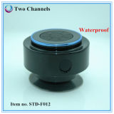 Succión Cup Waterproof Ipx7 Bluetooth Shower Speaker con Hands Free Function