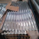 Feuille en acier galvanisée ridée de toiture de tôle de PPGI