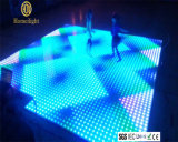 El baile impermeable de acrílico de P10 RGB artesona LED Dance Floor video para la visualización de la etapa del banquete de boda