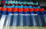 Доска листа FRP толя Glassfiber стеклоткани FRP/GRP просвечивающая Corrugated