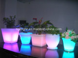 Godet à glace LED LED Décoration gonflable Star LED Bar Lampe de table LED Flowerpot pour hôtel Bar Night Club