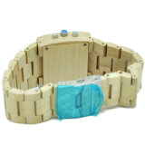 Goedkope Unisex- Houten die Horloges in het Horloge van China worden gemaakt