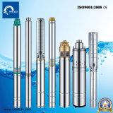 Pompe de puits profonde submersible électrique d'acier inoxydable de la série 4sp