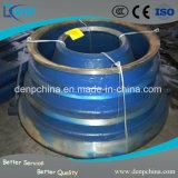 Forro elevado forte da bacia do manganês da resistência de desgaste para o triturador do cone