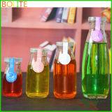 100ml por atacado aos frascos de vidro da bebida 250ml com o frasco de leite plástico