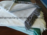 Manta pura tejida de la comida campestre del algodón de la verificación
