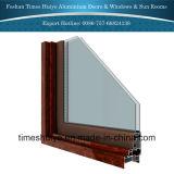 Schiebendes Aluminiumfenster mit verschiedenen Panels