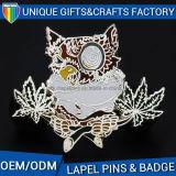 Distintivo molle di Pin dello smalto di marchio del metallo del risvolto del distintivo su ordinazione di Pin