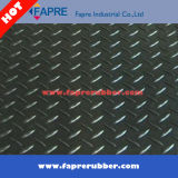 다이아몬드 Tread Pattern Rubber Floor Mat 또는 Fine Ribbed Rubber Flooring Mat