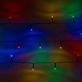 Allumage solaire de chaîne de caractères de 1000 cm extérieur avec 50 DEL