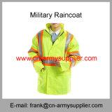 反射レインコート機密保護のレインコートトラフィックのレインコート軍隊のレインコート義務のレインコート警察のレインコート