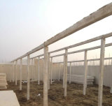 Grosse Plan-Huhn-Bauernhof-lokale Häuser in Afrika