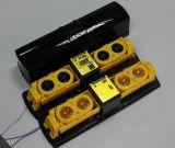 Rivelatore del fascio della visualizzazione di LED con l'alloggiamento del riscaldamento (ABH-250)